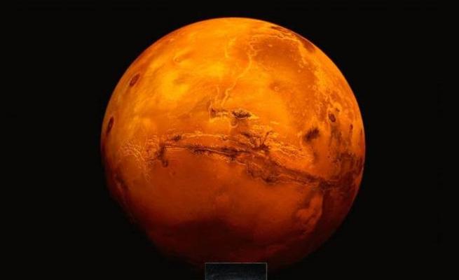 NASA:Mars Ekim ayı boyunca Dünya'dan görülebilecek