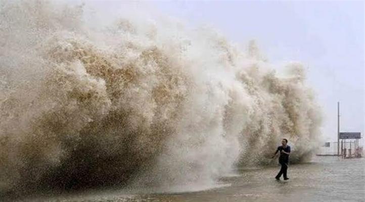 Çin'in güneyinde tayfun alarm seviyesi 3'e yükseltildi