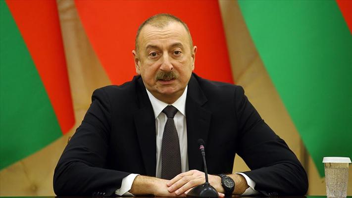 Azerbaycan Cumhurbaşkanı Aliyev: ''SİHA'lar Ermenistan'a ait 1 milyar dolarlık askeri ekipmanı yok etti''