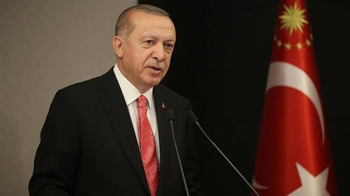 Cumhurbaşkanı Erdoğan: ''Kur baskısını ortadan kaldıracak özgün çalışmalara hız vermeliyiz''