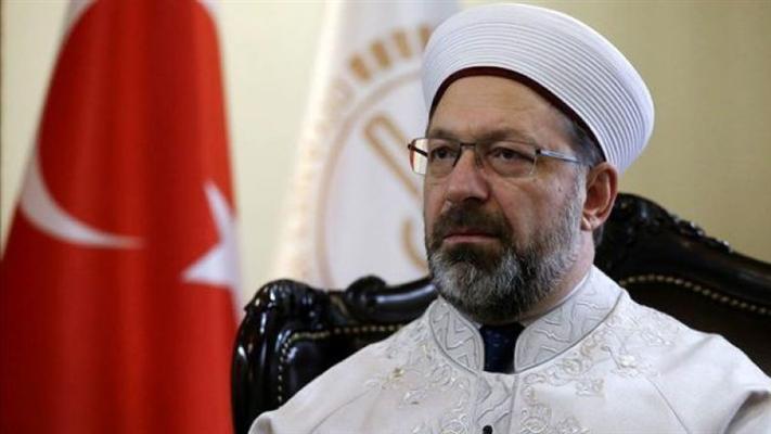 Diyanet İşleri Başkanı Ali Erbaş'dan açıklama