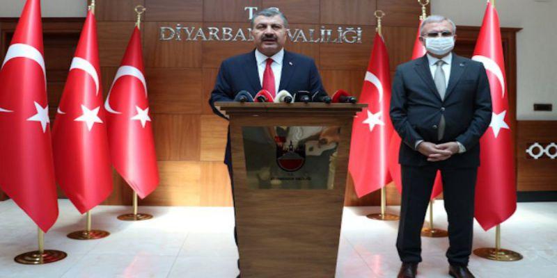 Dr.Fahrettin Koca Diyarbakır'da