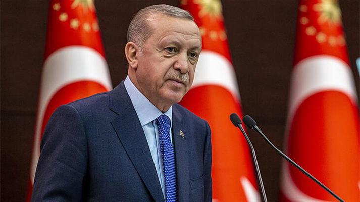 Cumhurbaşkanı Erdoğan: ''Geçen sene diktiğimiz fidanlar filiz veriyor''