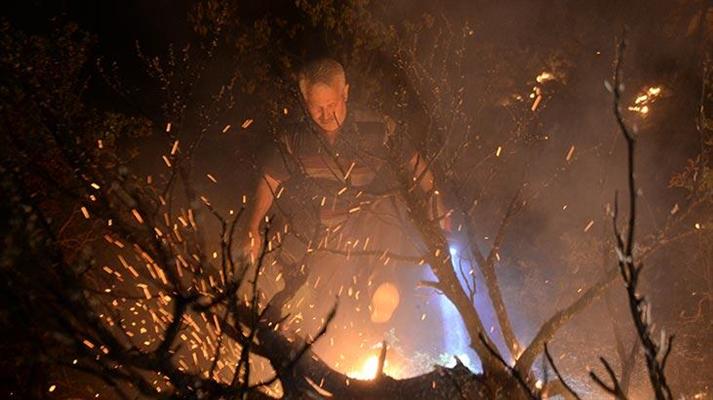 Kahramanmaraş'ta 4 farklı noktada yangın çıktı