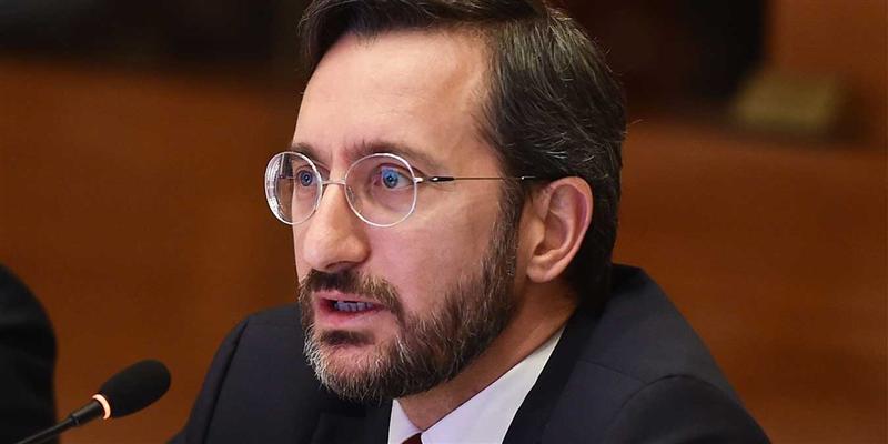 İletişim Bakanı Fahrettin Altun Ermenistan'ın iddialarını yalanladı