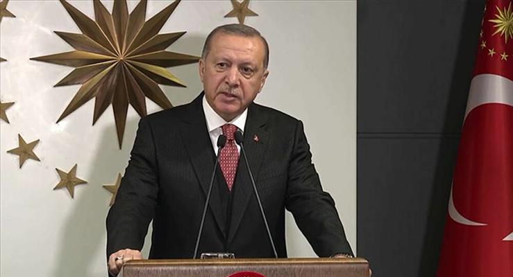 Cumhurbaşkanı Erdoğan'dan İzmir'de meydana gelen depremden zarar gören insanlar hakkında açıklama