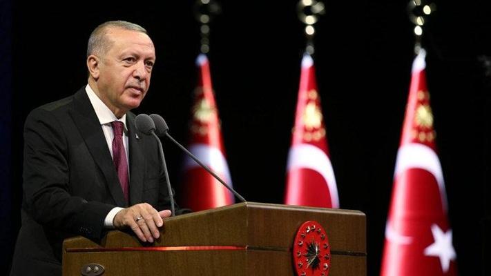 Cumhurbaşkanı Erdoğan, Azerbaycan'daki savaşın son durumu hakkında konuştu