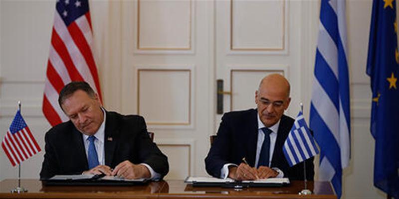 ABD ve Yunanistan Ortak Bilim ve Teknoloji Anlaşması imzaladı