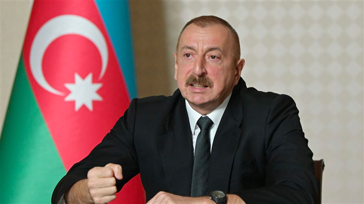 Azerbaycan Cumhurbaşkanı İlham Aliyev: ''Ateşkes isteyenler Ermenistan'a silahlar gönderiyor''