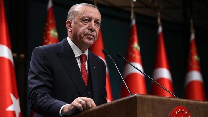 Cumhurbaşkanı Erdoğan: ''Tedbirlerle salgının hızını kestik''