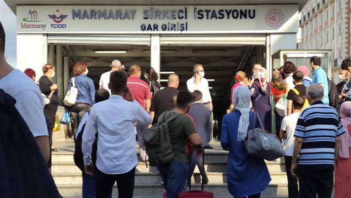 Kazlıçeşme - YeniKapı arası Marmaray seferleri durduruldu