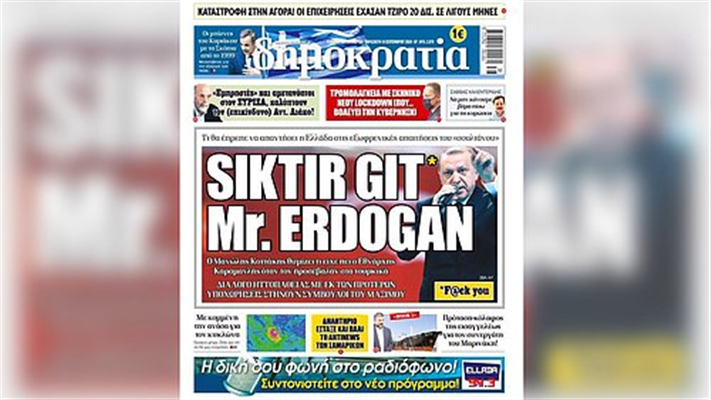 Yunan gazetesinin skandal haberine Erdoğan'ın avukatından suç duyurusu