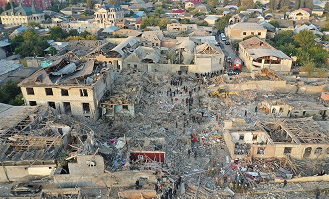Ermenistan'ın saldırılarında zarar gören Azerbaycan binaları, ölen ve yaralanan insanlar belli oldu