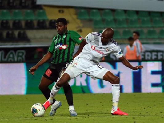 Maç sonucu Denizlispor 2 - 3 Beşiktaş