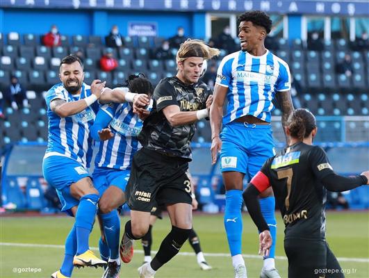Maç sonucu Erzurumspor 1-1 Göztepe