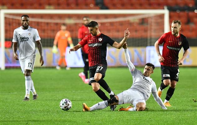 Maç sonucu Beşiktaş 1-3 Gaziantep FK