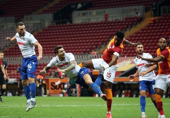 Maç sonucu Galatasaray 2 Hajduk Split 0