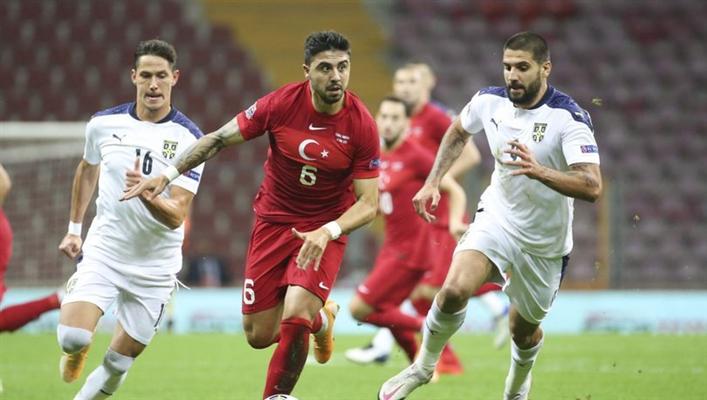 Sırbistan 2 - 2 Türkiye  maç sonucu