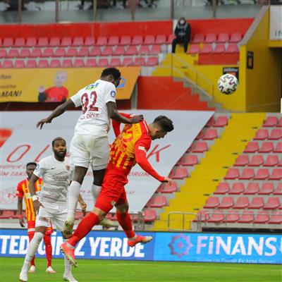 Maç sonucu Hatayspor 1-0 Kayserispor