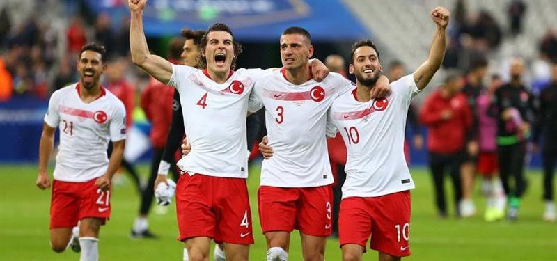 A Milli Futbol Takımımız hazırlık maçında Almanya ile 3-3 berabere kaldı
