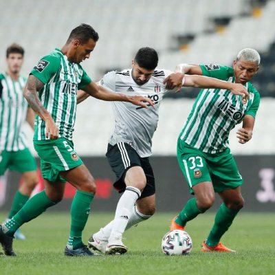 Beşiktaş 1 Rio Ave 1 Rio Ave penaltılarda kazandı